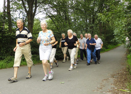 Walking-Gruppe de TV-Oberneuland in Bremen